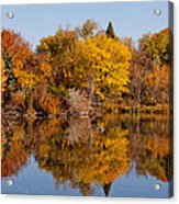 Oh Of Such Color Acrylic Print