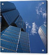 Oh So Blue - Downtown Toronto Skyscrapers Acrylic Print