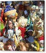 Oh Those Dolls Acrylic Print