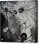 Oh What Tangled Webs We Weave Acrylic Print