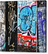 Oh Yes - Graffiti Acrylic Print