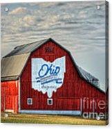 Ohio Bicentennial Barn -van Wert County Acrylic Print