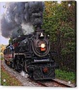 Ohio Central #1293 Steam Acrylic Print
