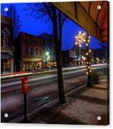 Ohio Christmas Eve Acrylic Print