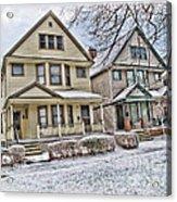 Ohio City Cleveland Acrylic Print