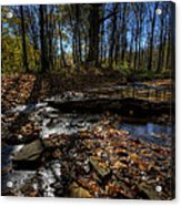 Ohio Fall Beauty Scene Acrylic Print