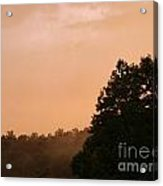 Ohio Fog Acrylic Print