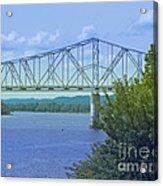 Ohio River Crossing Acrylic Print