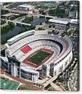 Ohio Stadium Aerial Acrylic Print