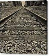 Ohio Train Tracks Acrylic Print