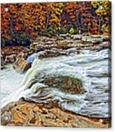 Ohiopyle Falls 2 Acrylic Print