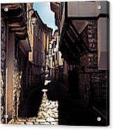 Ohrid Streets Acrylic Print