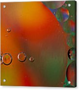 Oil And Water 10 Acrylic Print