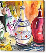 Oil Dispensers From Taormina Acrylic Print