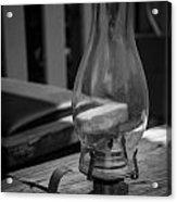 Oil Lamp Acrylic Print