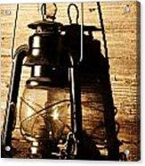 Oil Lantern Acrylic Print