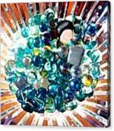 Oil Painting - Shine All Around Acrylic Print