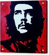 Original Oil Painting Art -ernesto Guevara#16-2-5-30 Acrylic Print