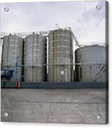 Oil Recycling Works Acrylic Print