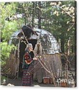 Ojibwe Fish Basket Acrylic Print