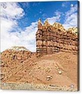 Ojitos De Los Gatos Panorama - New Mexico Acrylic Print