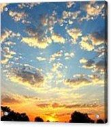Okavango Delta Sunset Acrylic Print