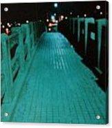 Okc Bridge Acrylic Print