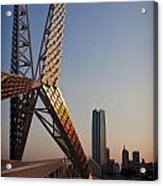 Okc Sky Bridge Acrylic Print