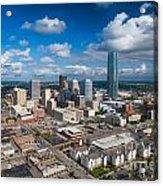 Oklahoma City Acrylic Print