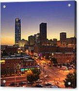 Oklahoma City Nights Acrylic Print