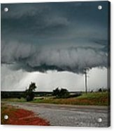 Oklahoma Wall Cloud Acrylic Print
