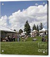 Oktoberfest Woodland Park 2014 Acrylic Print