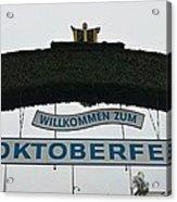 Oktomberfest In Bavaria Acrylic Print