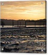 Ol' Ship Dock 2 Acrylic Print by Sheldon Blackwell