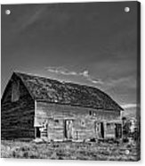 Old Abandoned Barn - D Rd Nw - Douglas County - Washington - May 2013 Acrylic Print