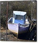 Old Abandoned Boat Acrylic Print