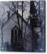 Old Abandoned Church Acrylic Print