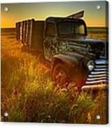 Old Abandoned Farm Truck Acrylic Print
