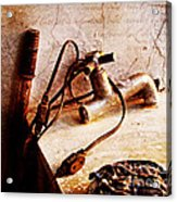 Old Abandoned Tap Acrylic Print