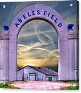 Old Abeles Field - Leavenworth Kansas Acrylic Print