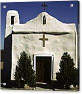 Old Adobe Church Acrylic Print