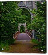 Old Alexandra Bridge Acrylic Print