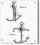 Old Anchor Patent Acrylic Print