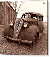 Old And Forgotten Acrylic Print