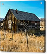 Old And Forgotten Acrylic Print by Robert Bales