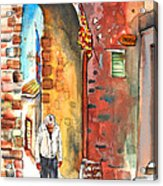 Old And Lonely In Italy 04 Acrylic Print