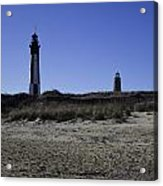 Old And New Cape Henry Lighthouse Acrylic Print
