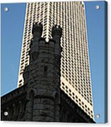 Old And New In The Windy City Acrylic Print