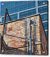 Old And New Los Angeles Acrylic Print