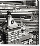 Old And New Tokyo Station Acrylic Print